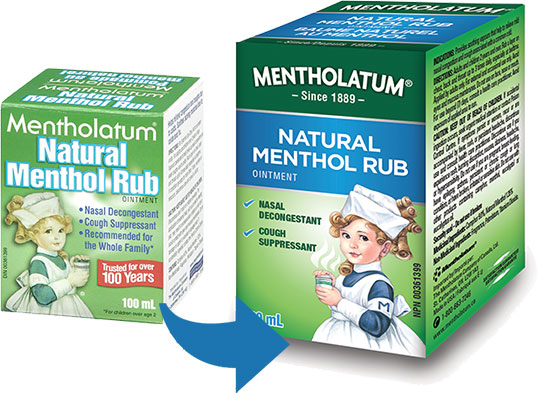 Mentholatum - Natural